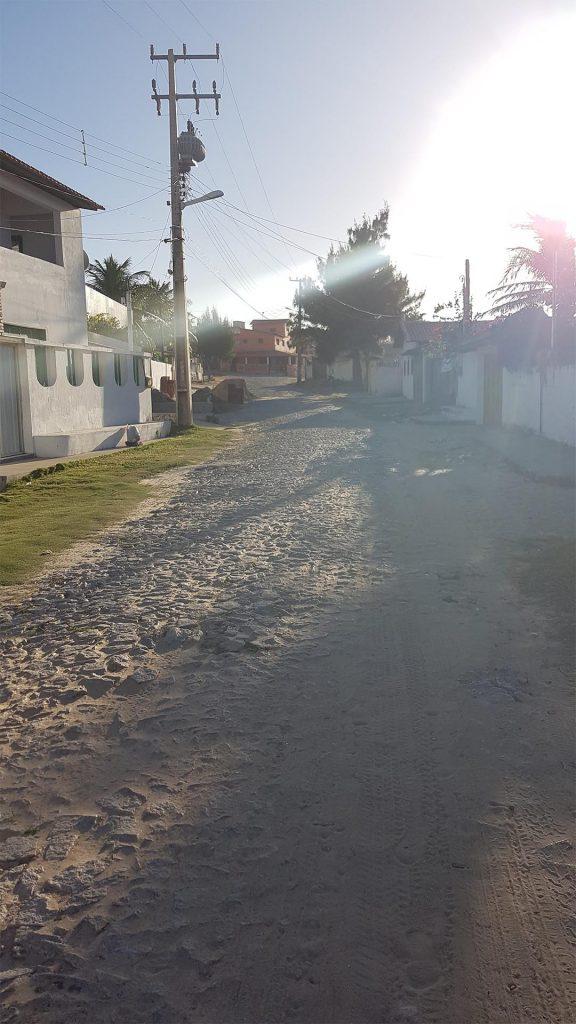 Una calle de Uruaú, Beberibe