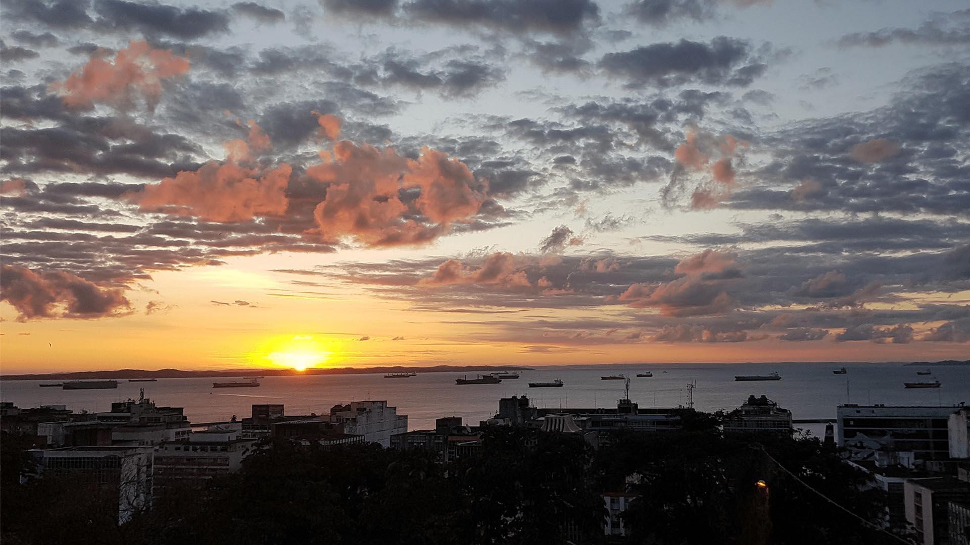 Vistas desde una de las habitaciones de Pousada Solar dos Romanos, Salvador de Bahía