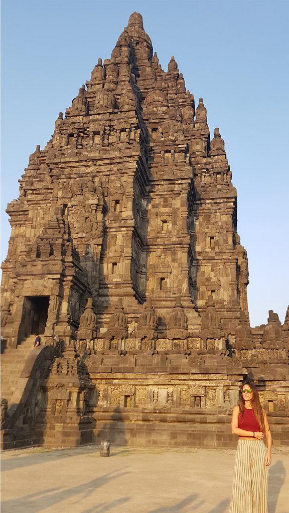 Llegada a Prambanan