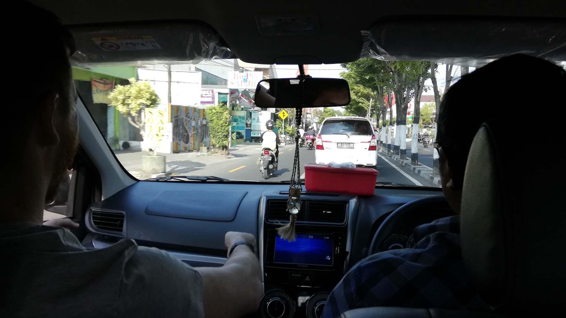 Camino a Prambanan