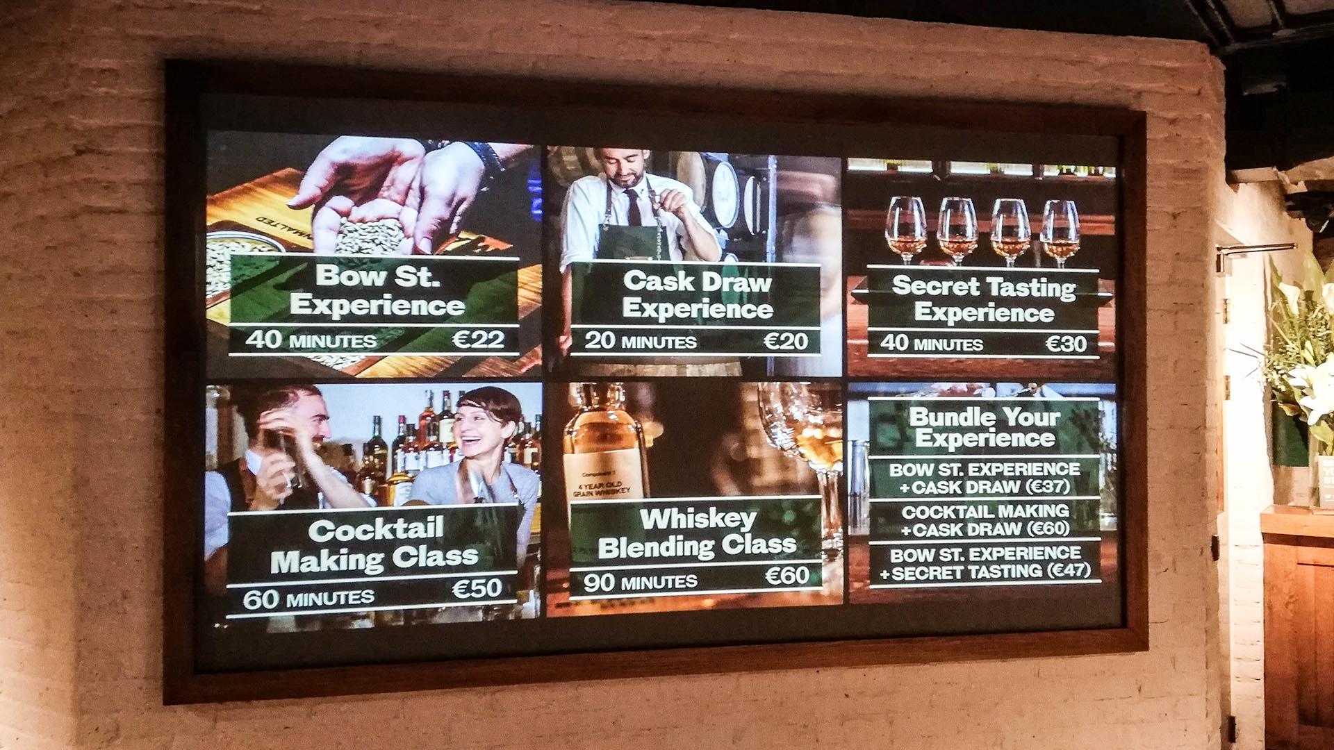 Precios de Experiencias en la Jameson Distillery, Dublín, Irlanda