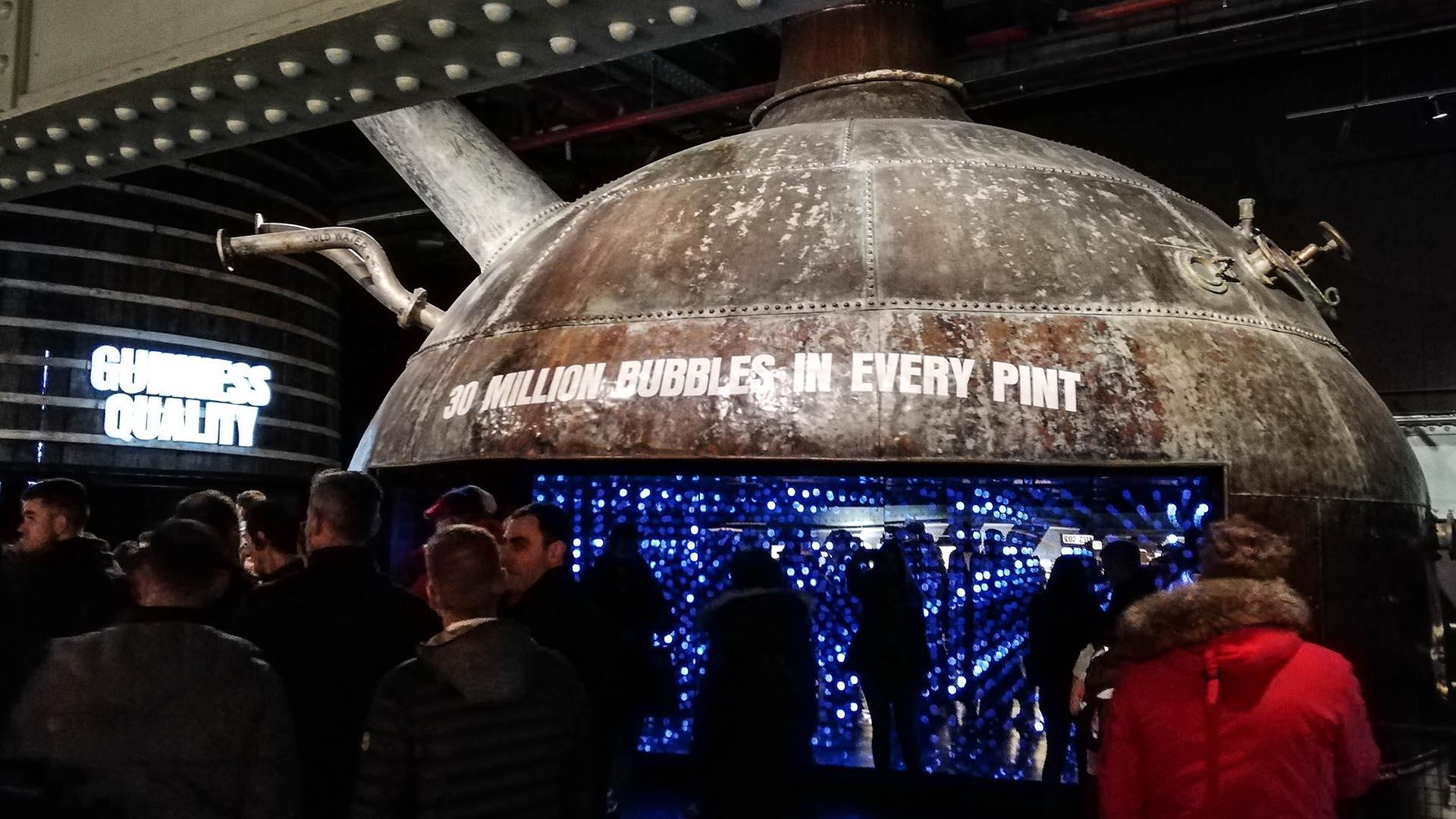 El secreto de las burbujas de la cerveza Guinness