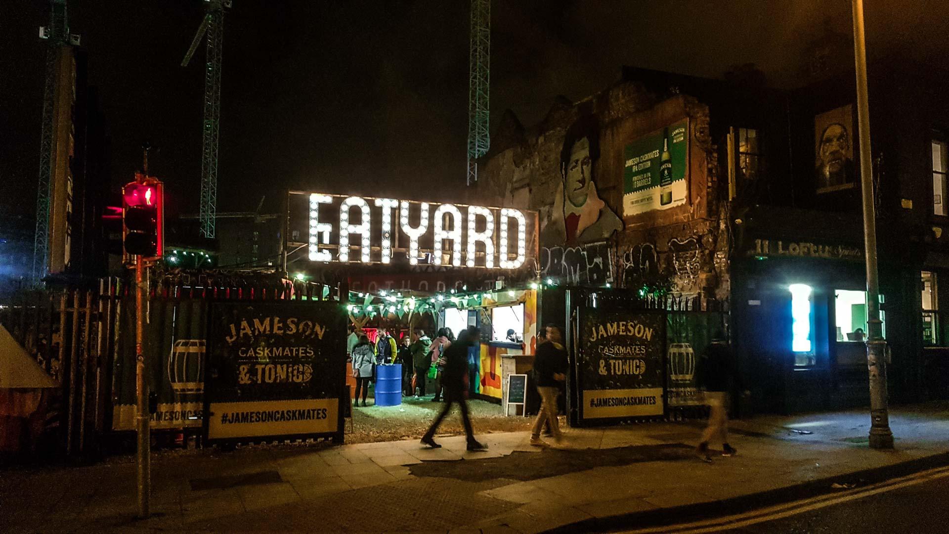 Eatyard, The Bernard Shaw, Dublín, Irlanda