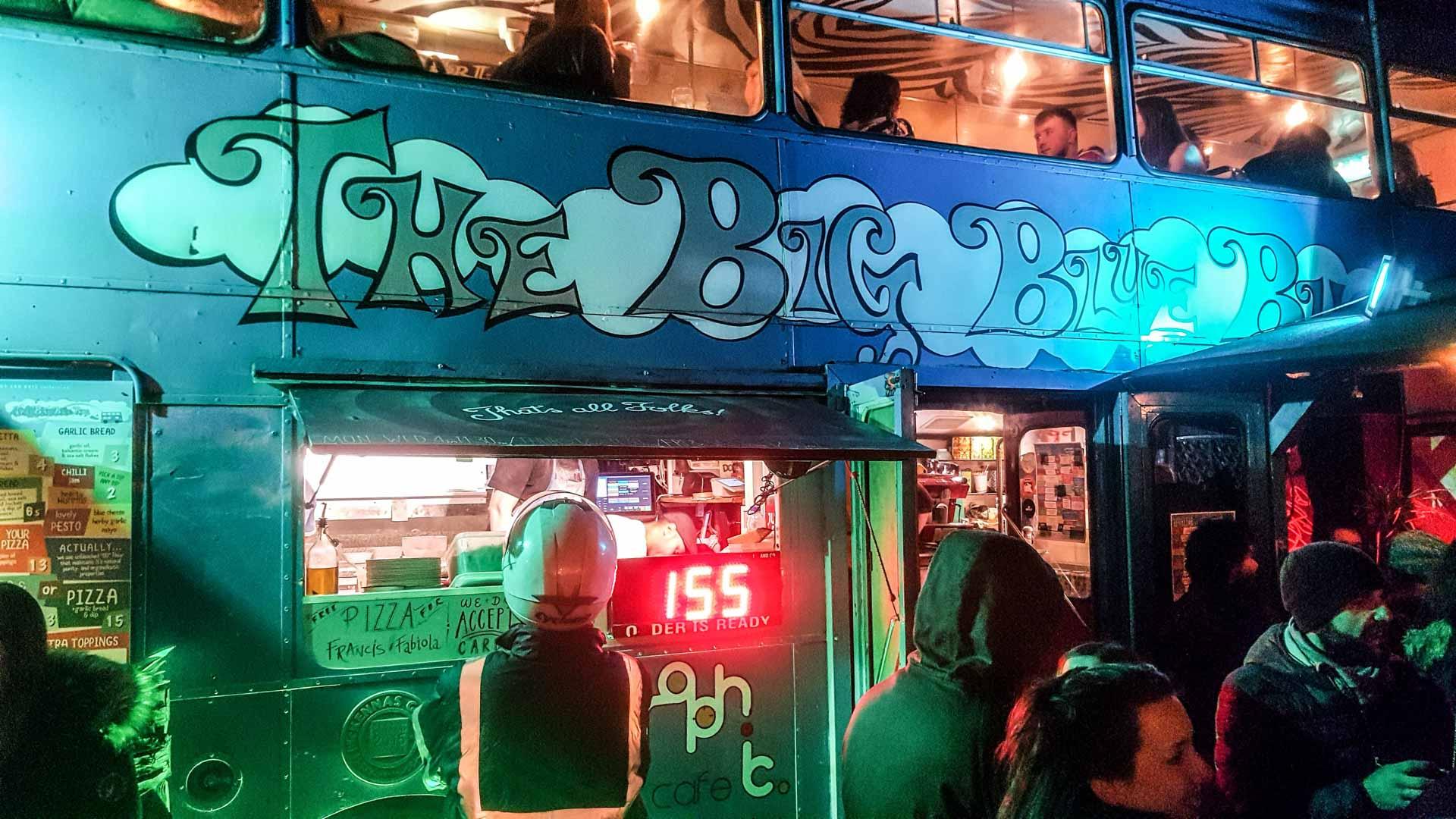 The Big Blue Bus, Dublín, Irlanda