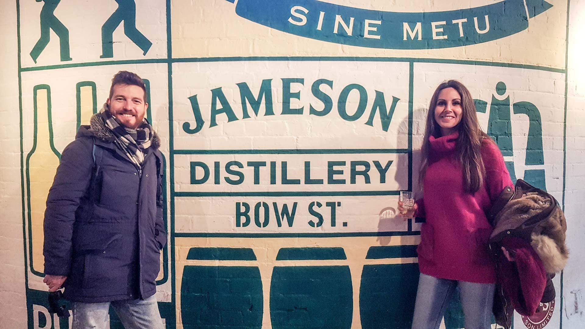 Tienda en la Jameson Distillery, Dublín, Irlanda