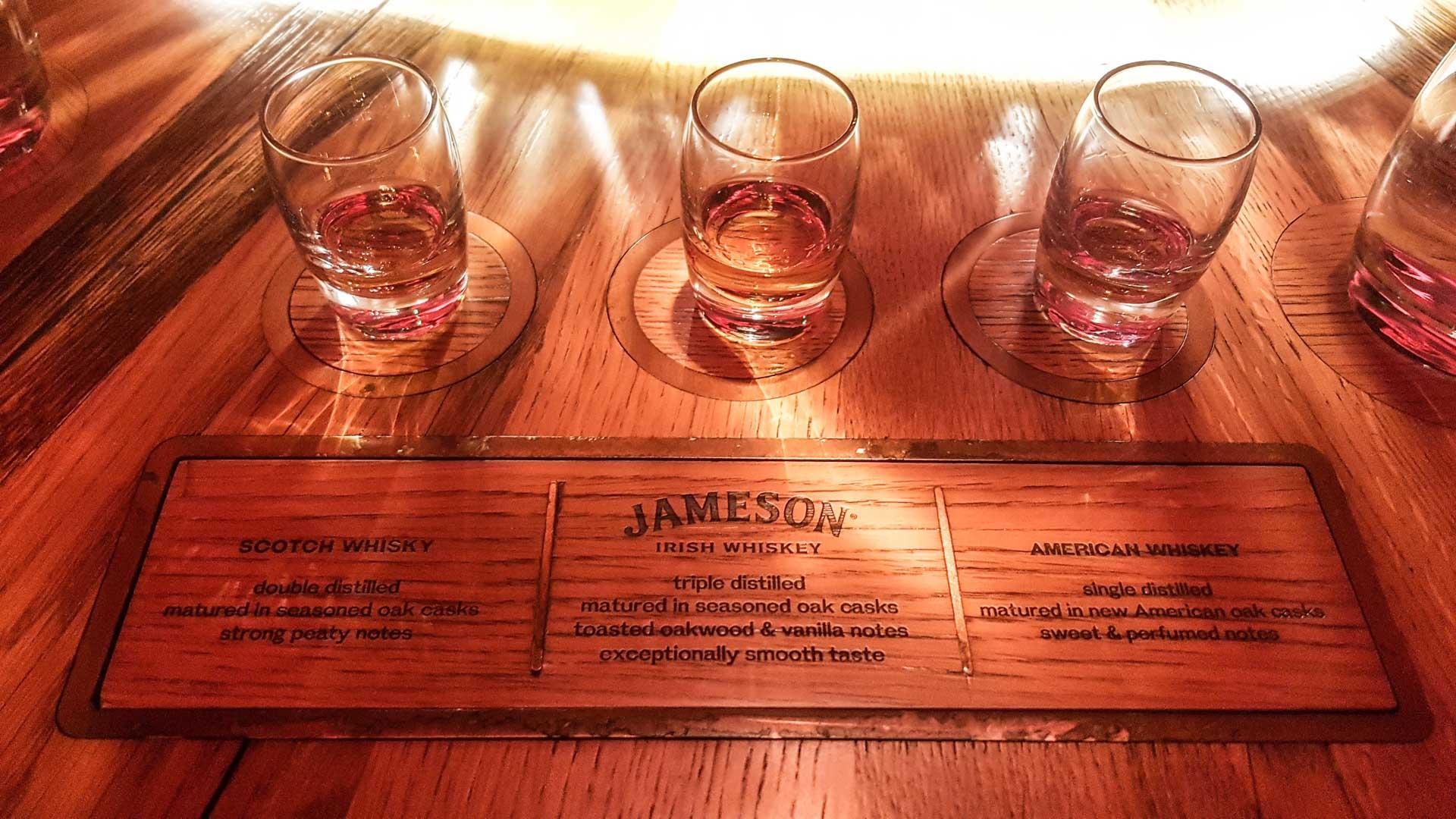 Cata de whiskys: escocés, irlandés y americano