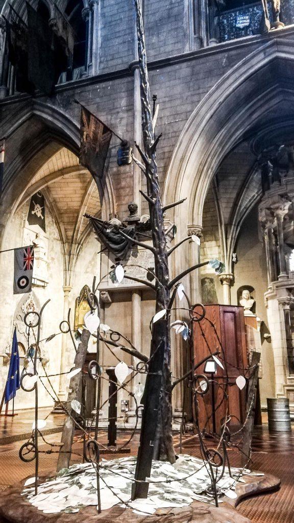 Árbol del Recuerdo, Catedral de San Patricio, Dublín, Irlanda