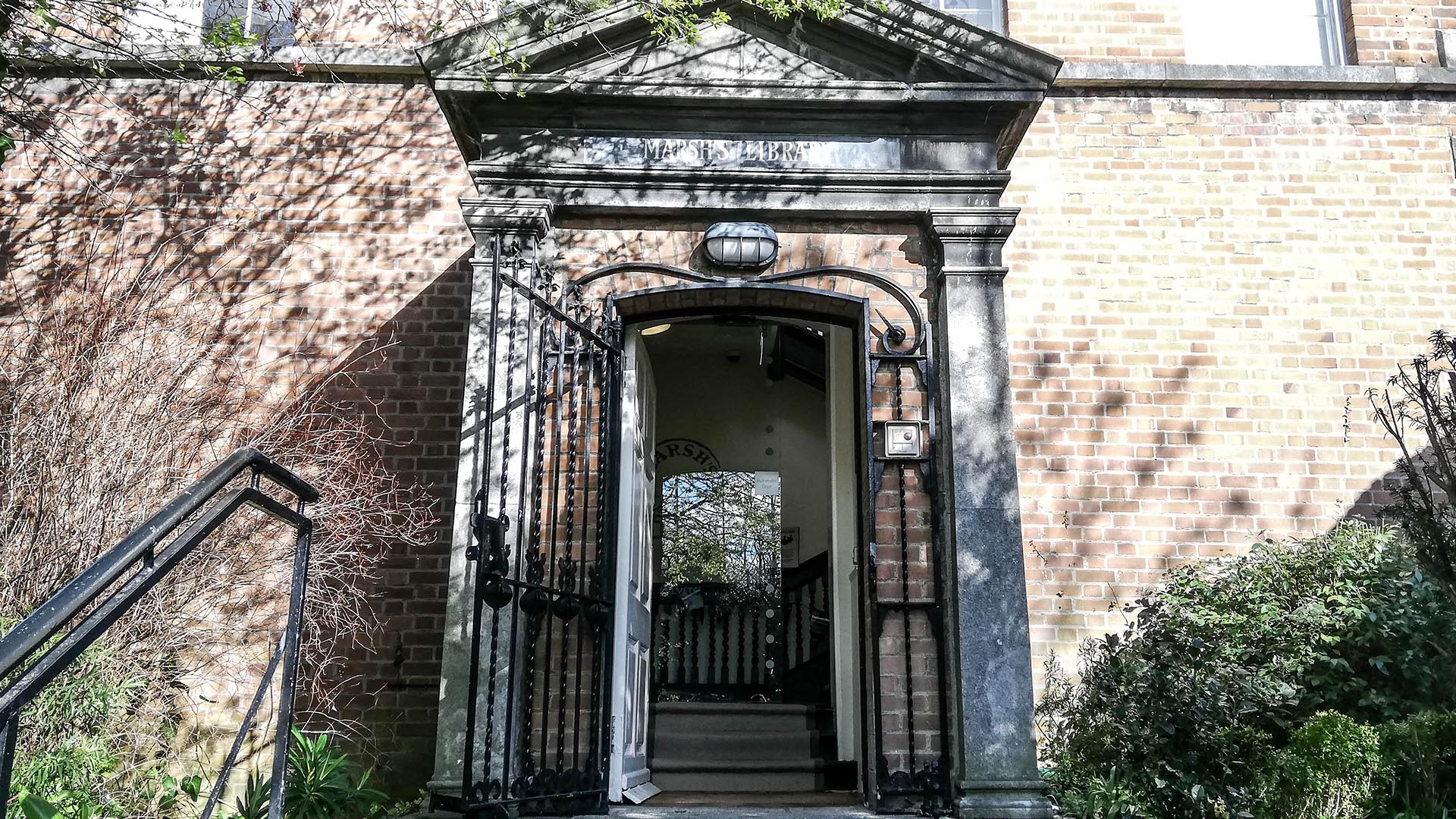 Marsh's Library, Dublín, Irlanda
