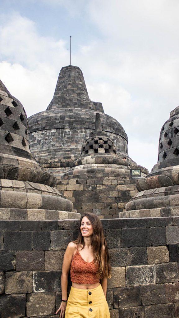 Estupa central de Borobudur