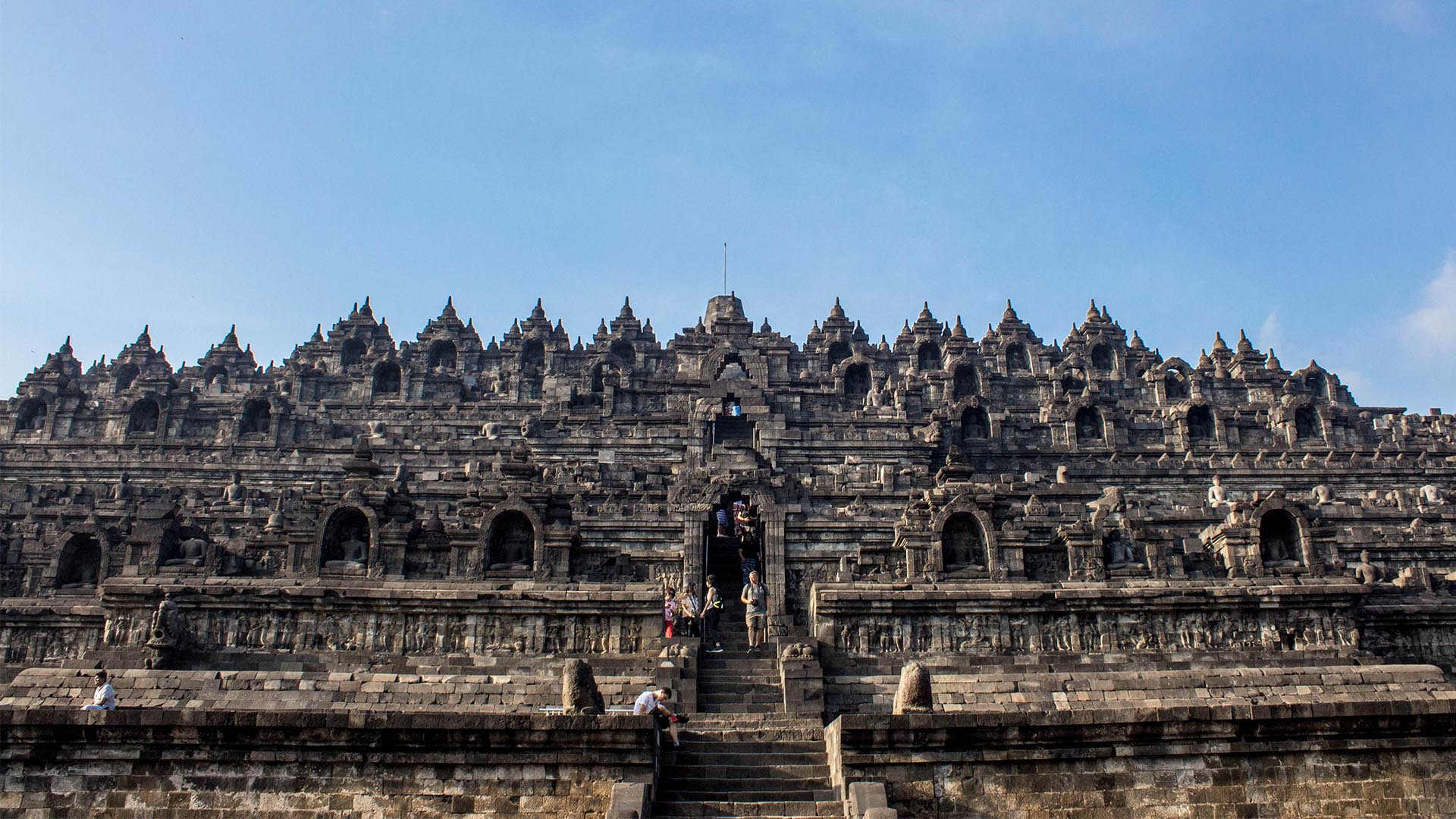 Entrada al Templo Borobudur