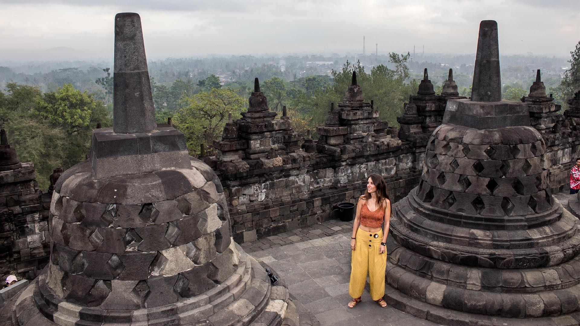 Entorno increíble en Borobudur