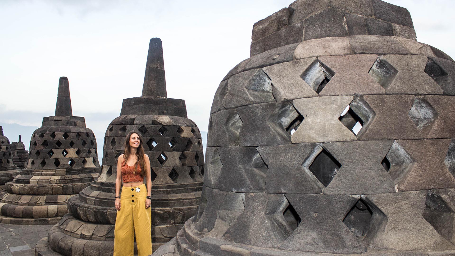 Estupas de Borobudur