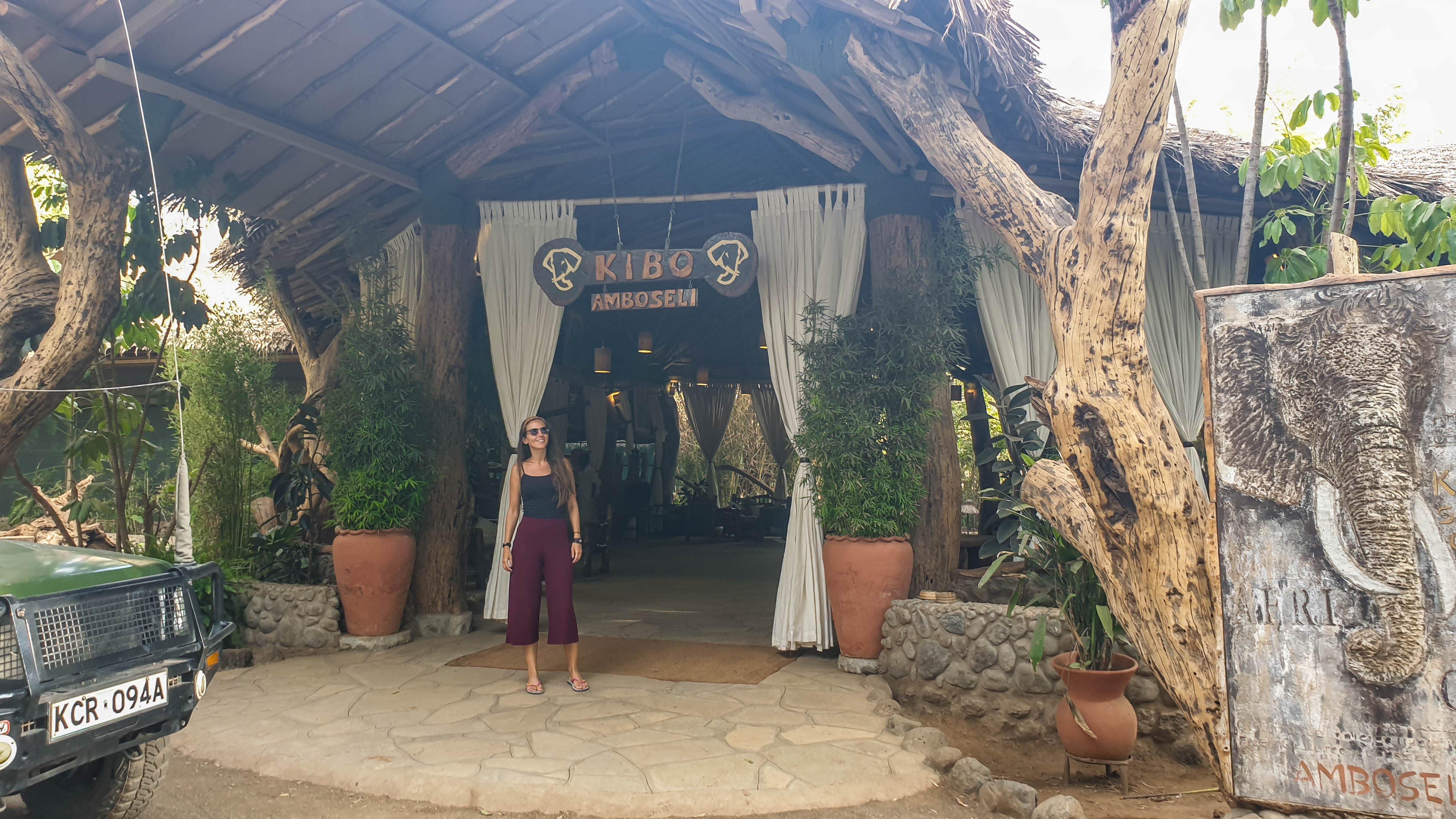 Nuestro alojamiento Kibo Safari Camp en Amboseli, Kenia