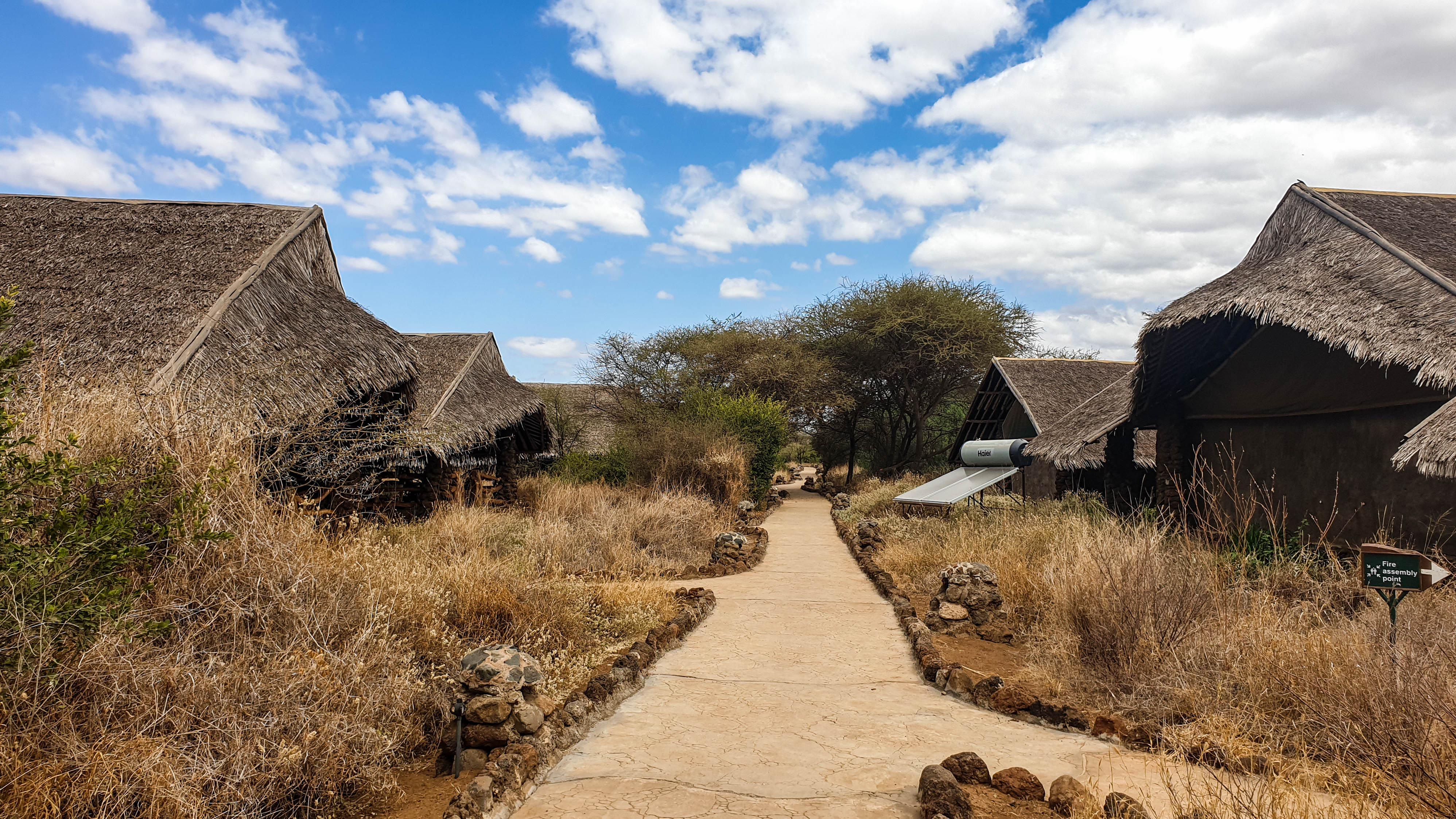 Cabañas en Kibo Safari Camp, Amboseli, Kenia