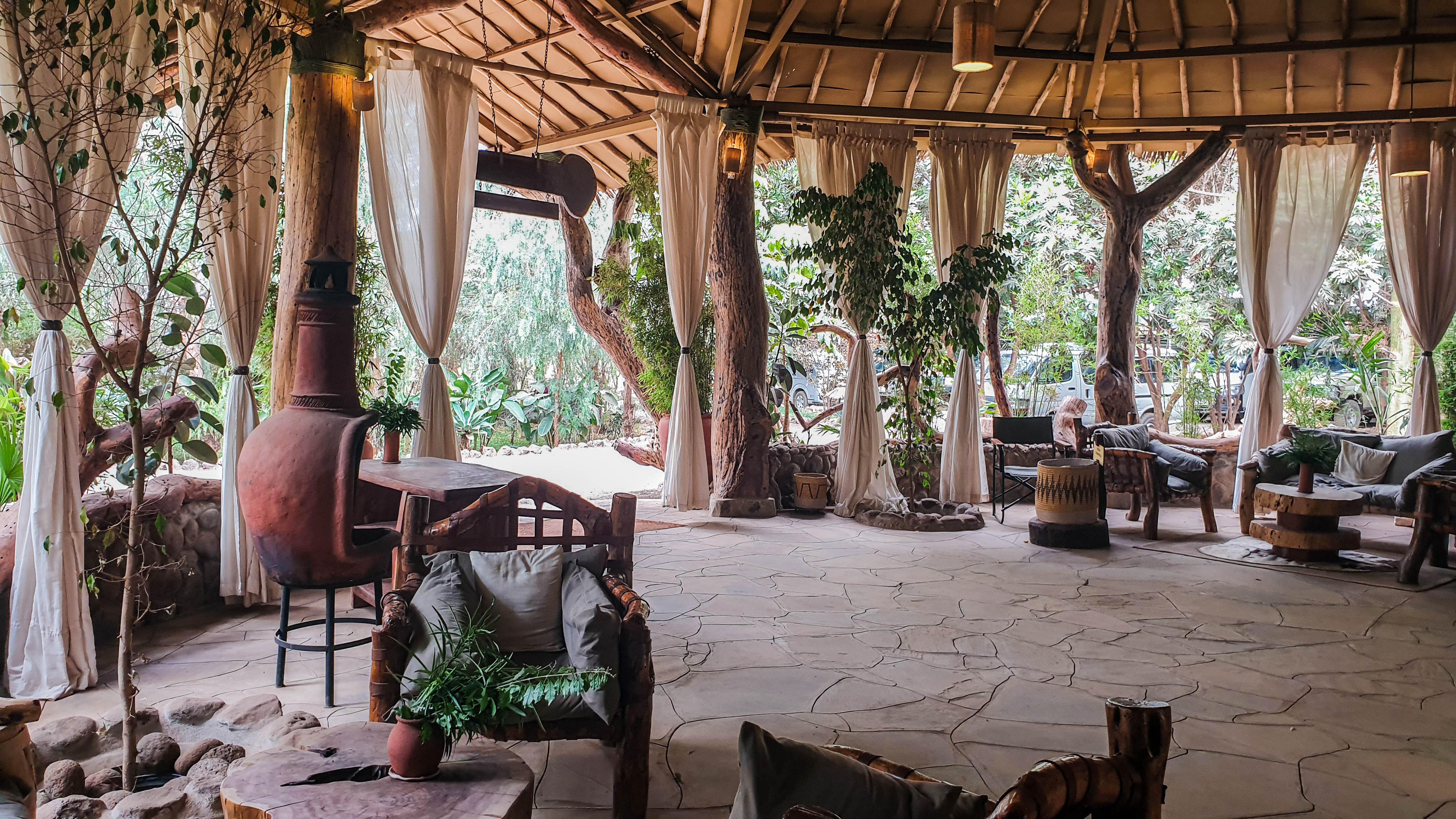 Hall del Kibo Safari Camp, Amboseli, Kenia