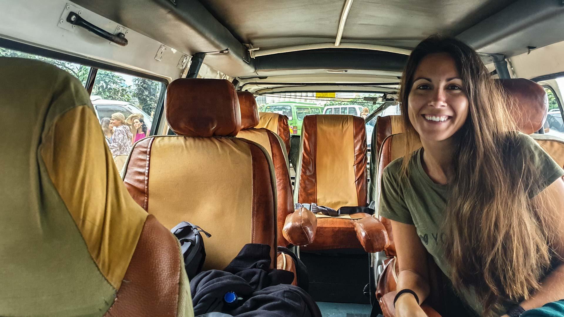 Minivan Toyota de 7 plazas