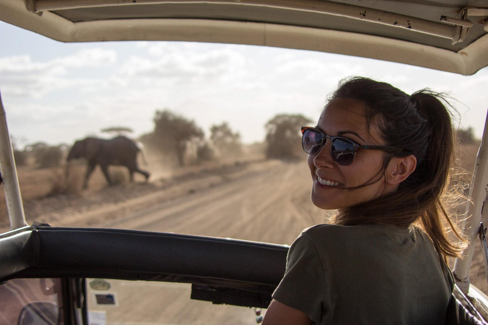Un sueño hecho realidad, Parque Nacional de Amboseli, Kenia