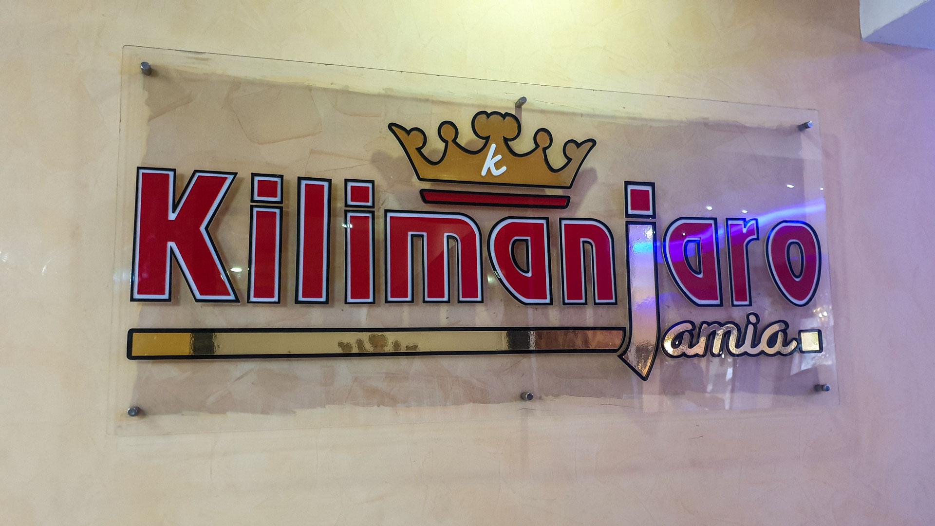 Restaurante Kilimanjaro Jamia, Nairobi, Kenia