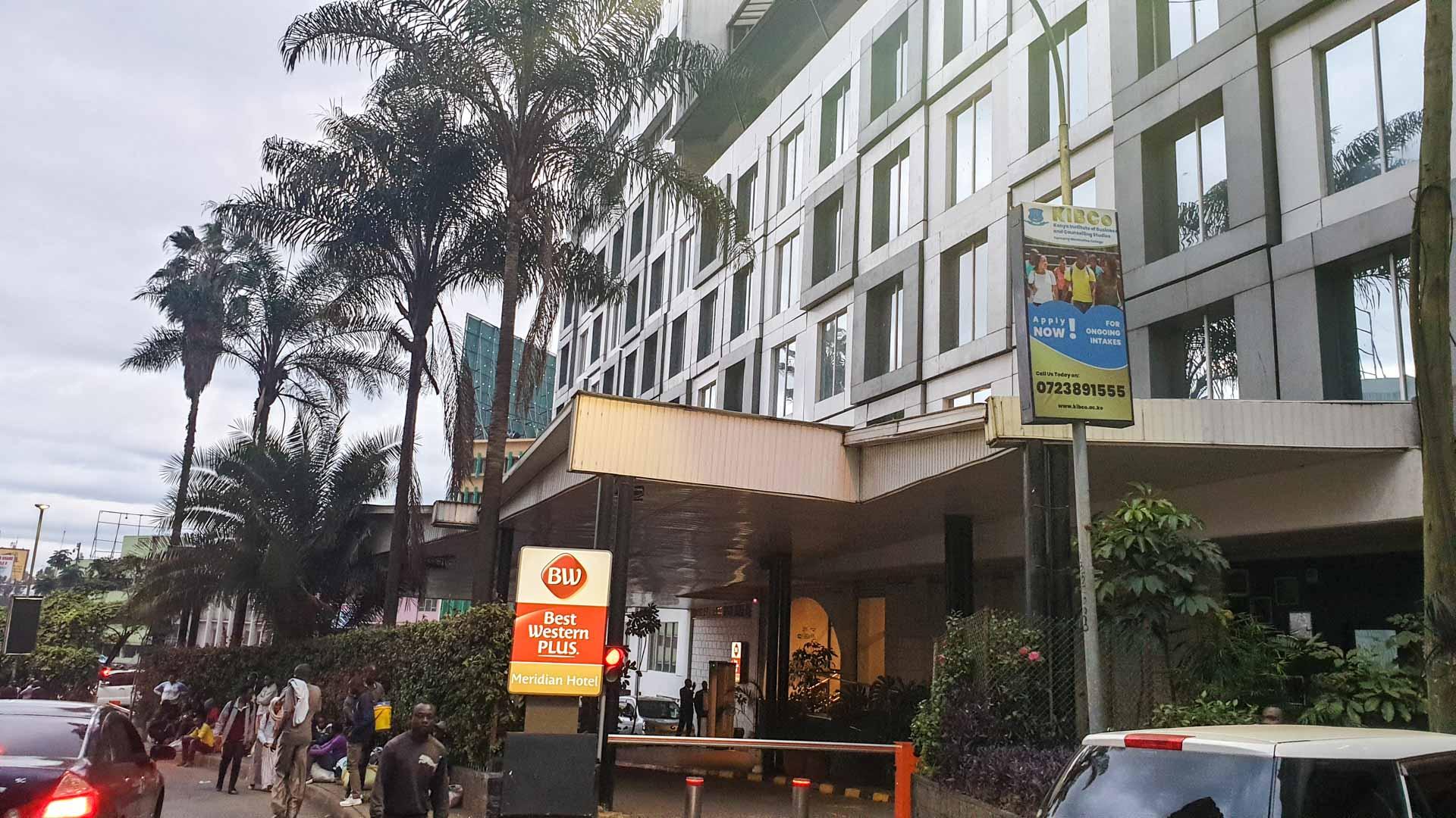 Entrada del Hotel Best Western Plus Meridian