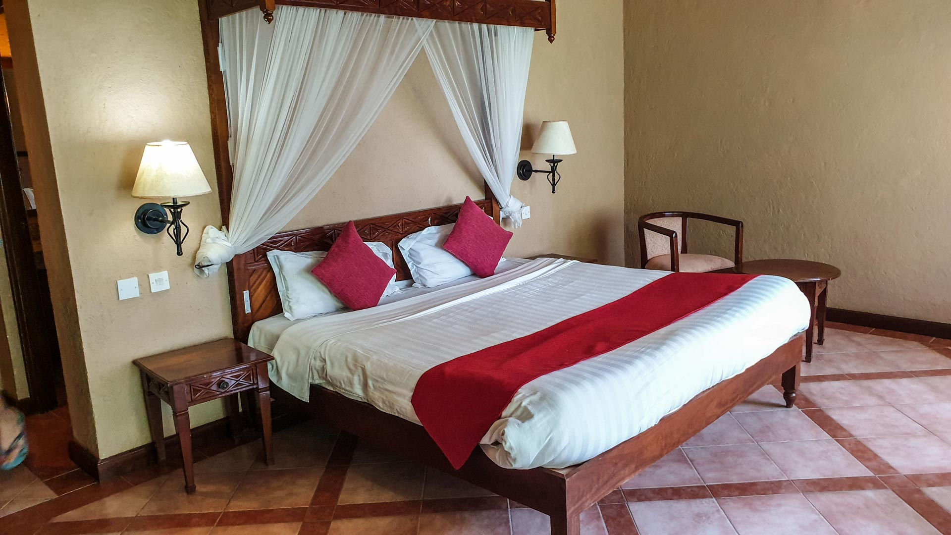 Habitación en Lake Nakuru Lodge