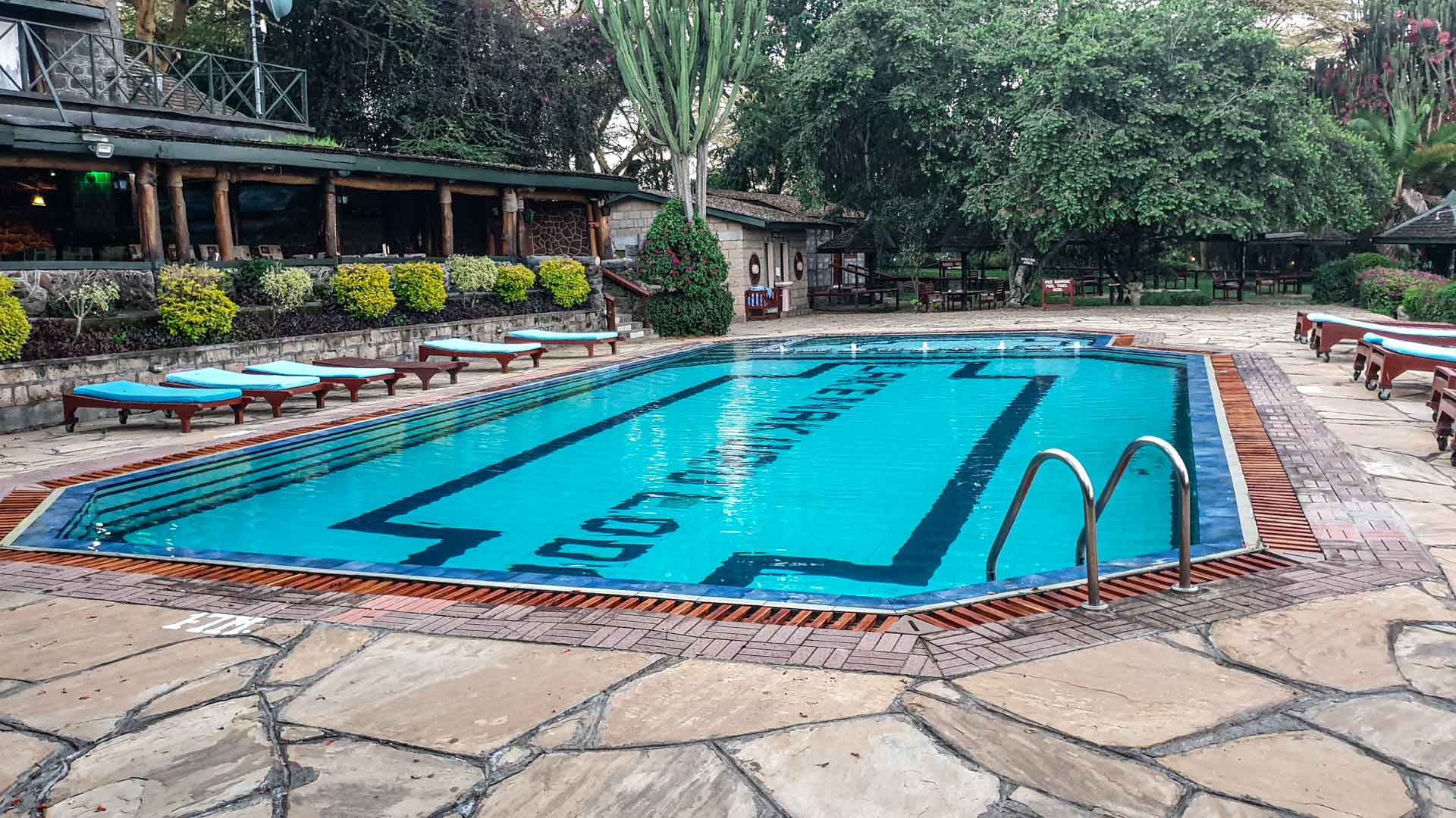 Piscina, Lake Nakuru Lodge