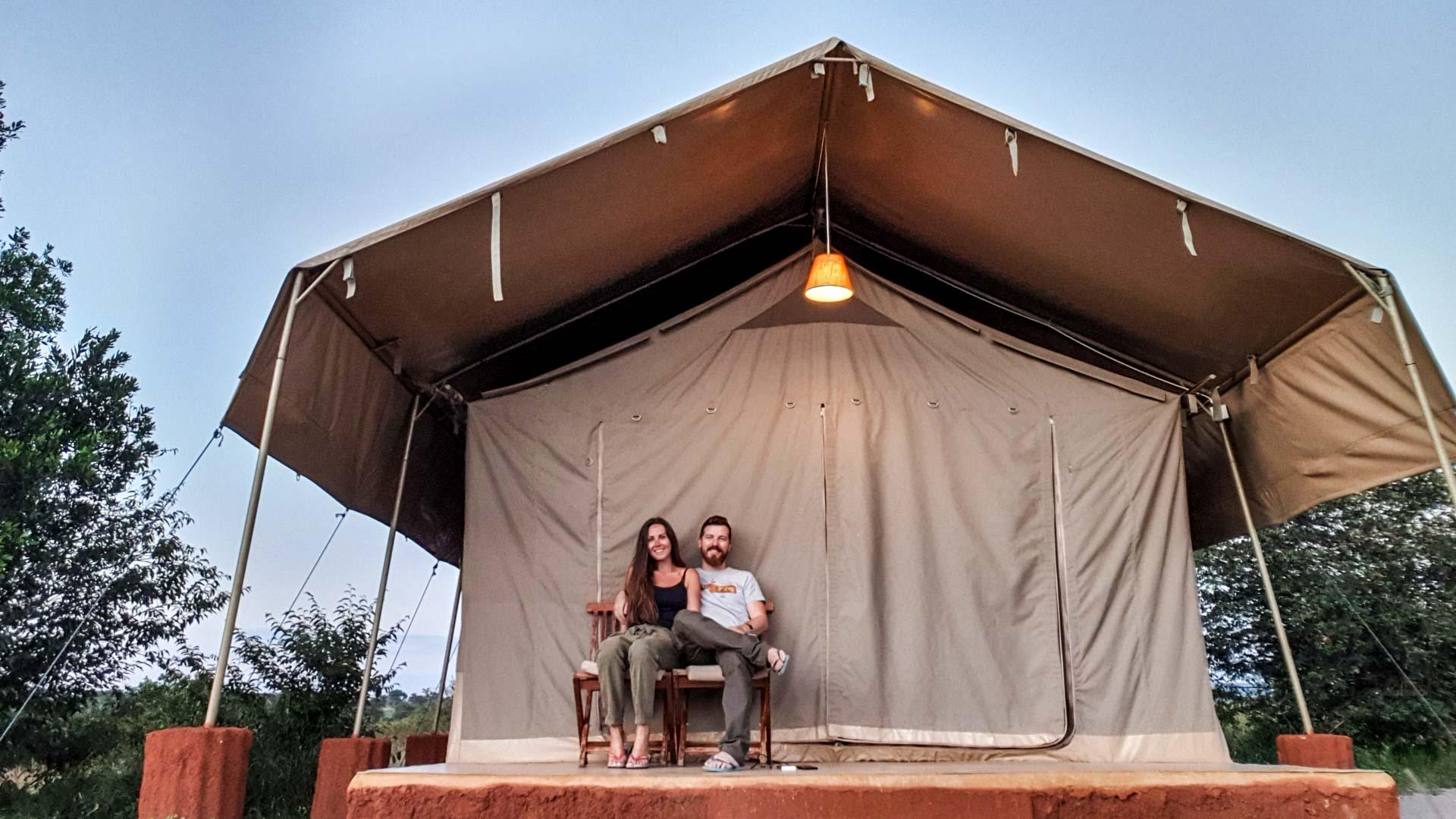 Nuestra tienda de campaña, Enkorok Mara Camp