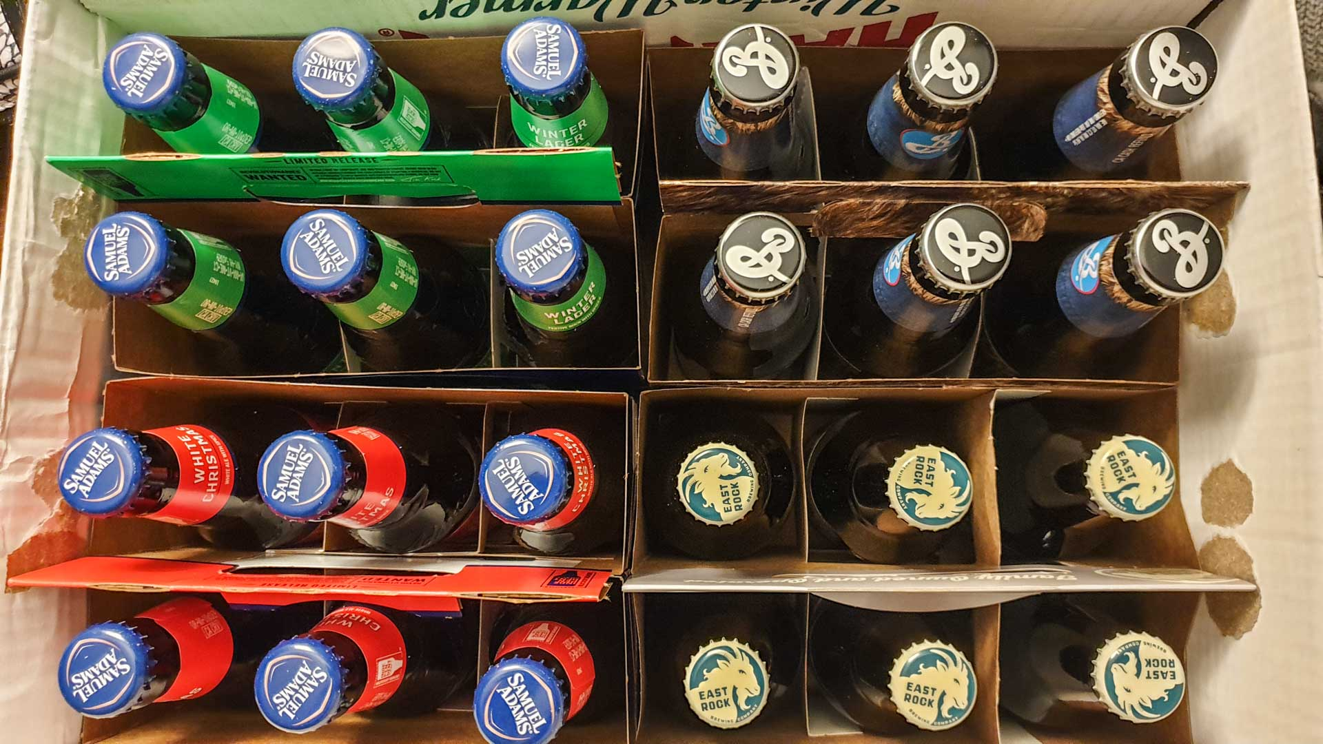 Il nostro acquisto di birre in totale vino, Milford, Connecticut