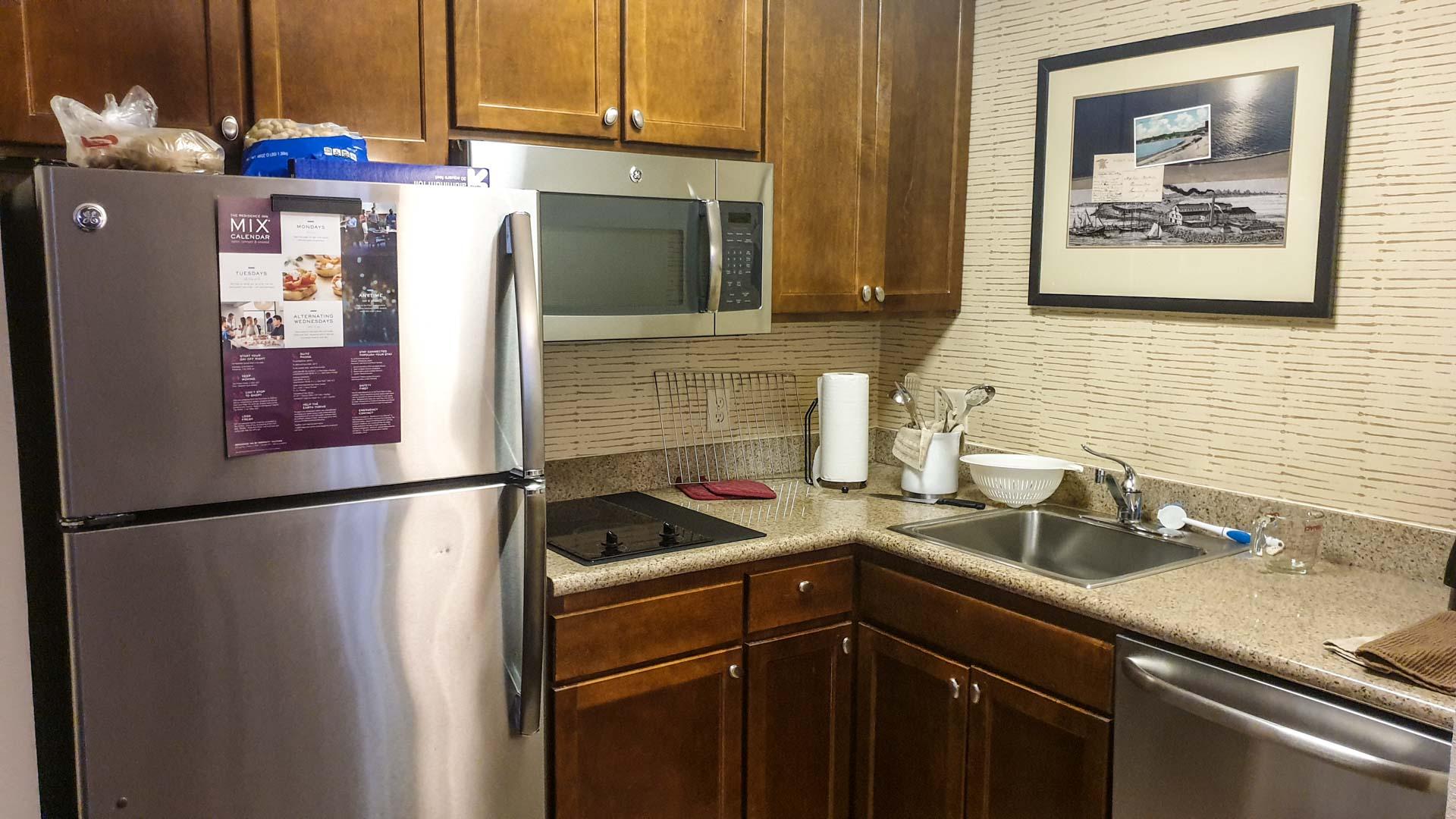 cociña do noso apartamento en Milford