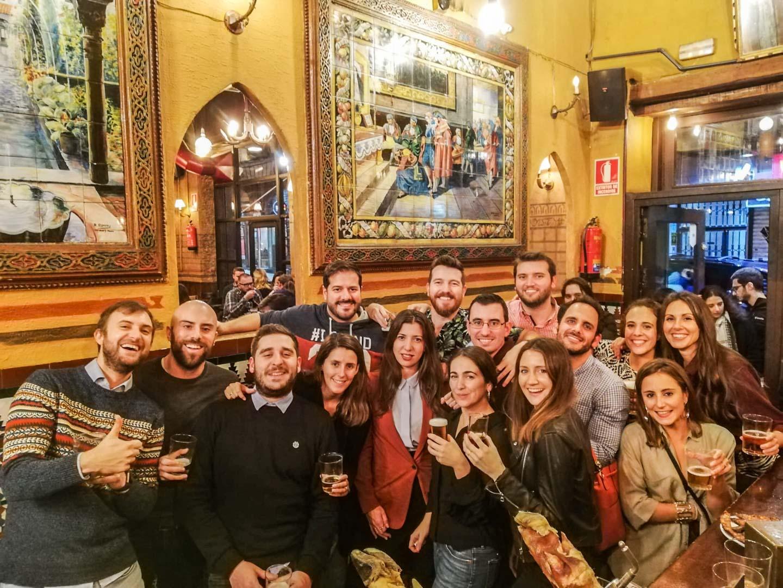 Adeus de Madrid cos nosos mellores amigos