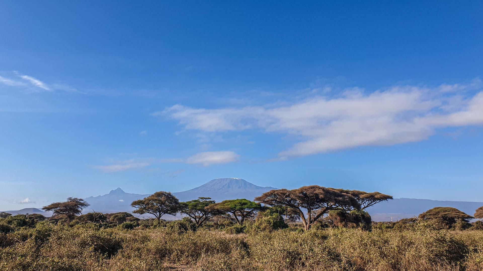 Monte Kilimanjaro, Amboseli, Kenia