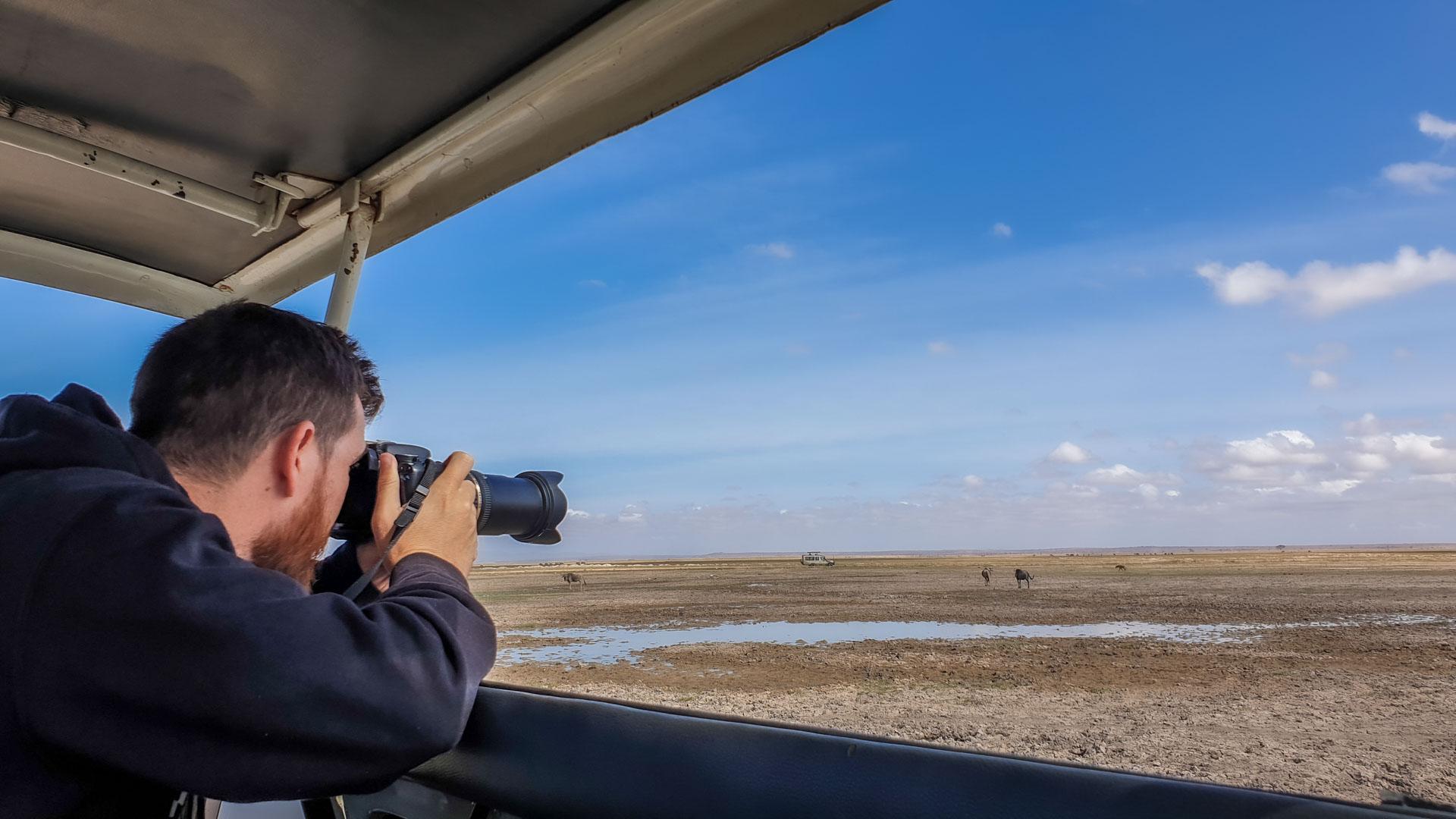 De safari por Amboseli, el paraíso de los elefantes, Kenia