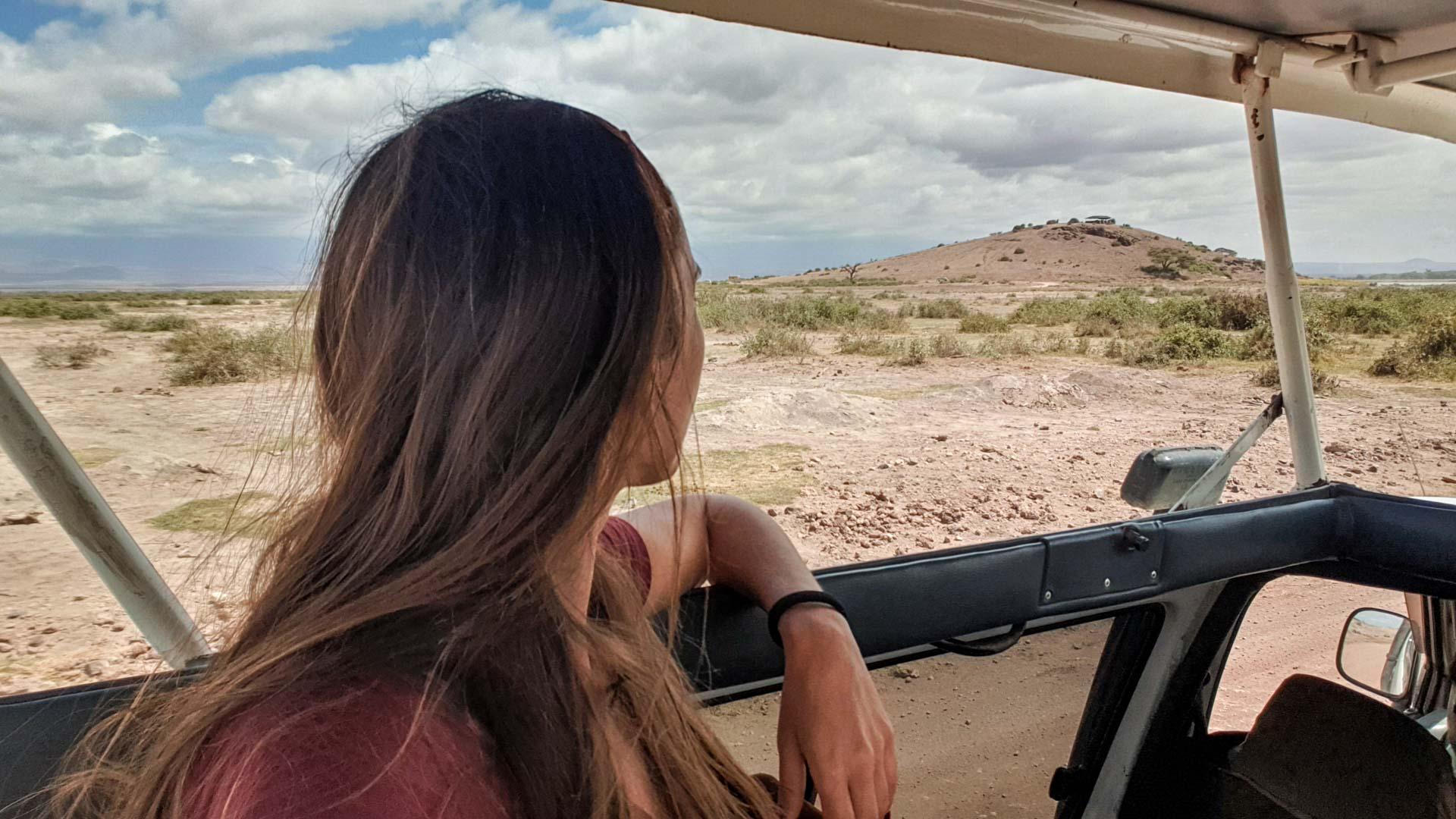 Nos dirigimos a Noomotio, un mirador en Amboseli, Kenia