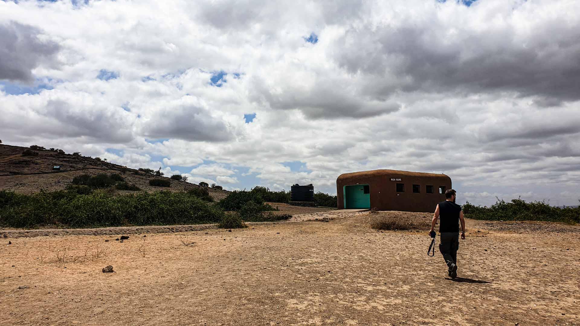 Llegamos a Noomotio, un mirador en Amboseli, Kenia
