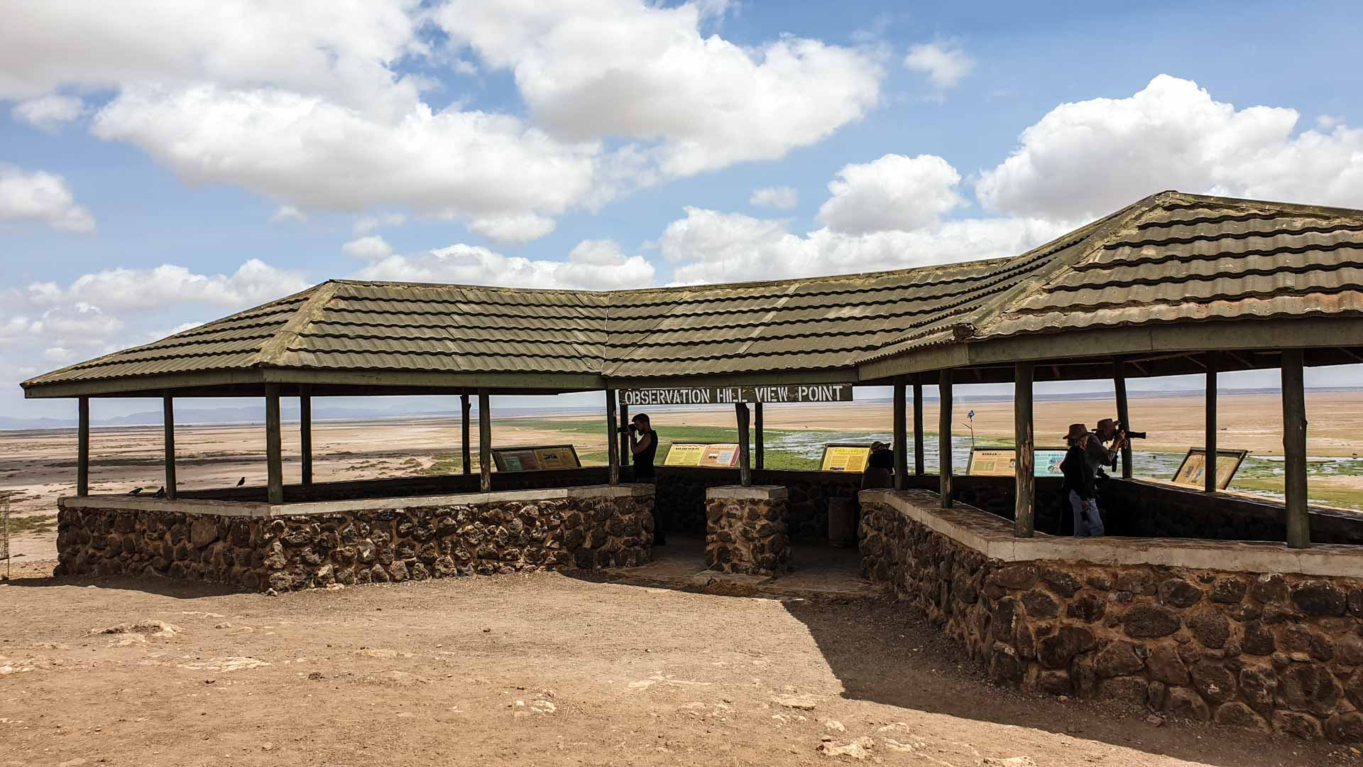 Mirador en Amboseli, Kenia