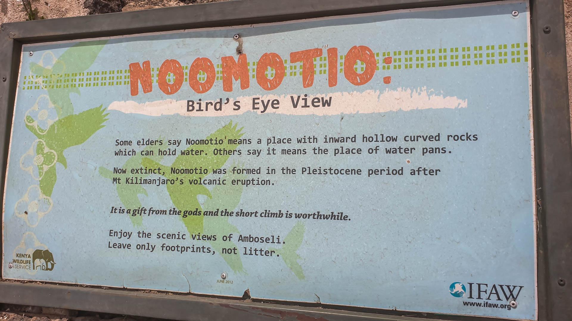 Noomotio, vista panorámica, Amboseli, Kenia
