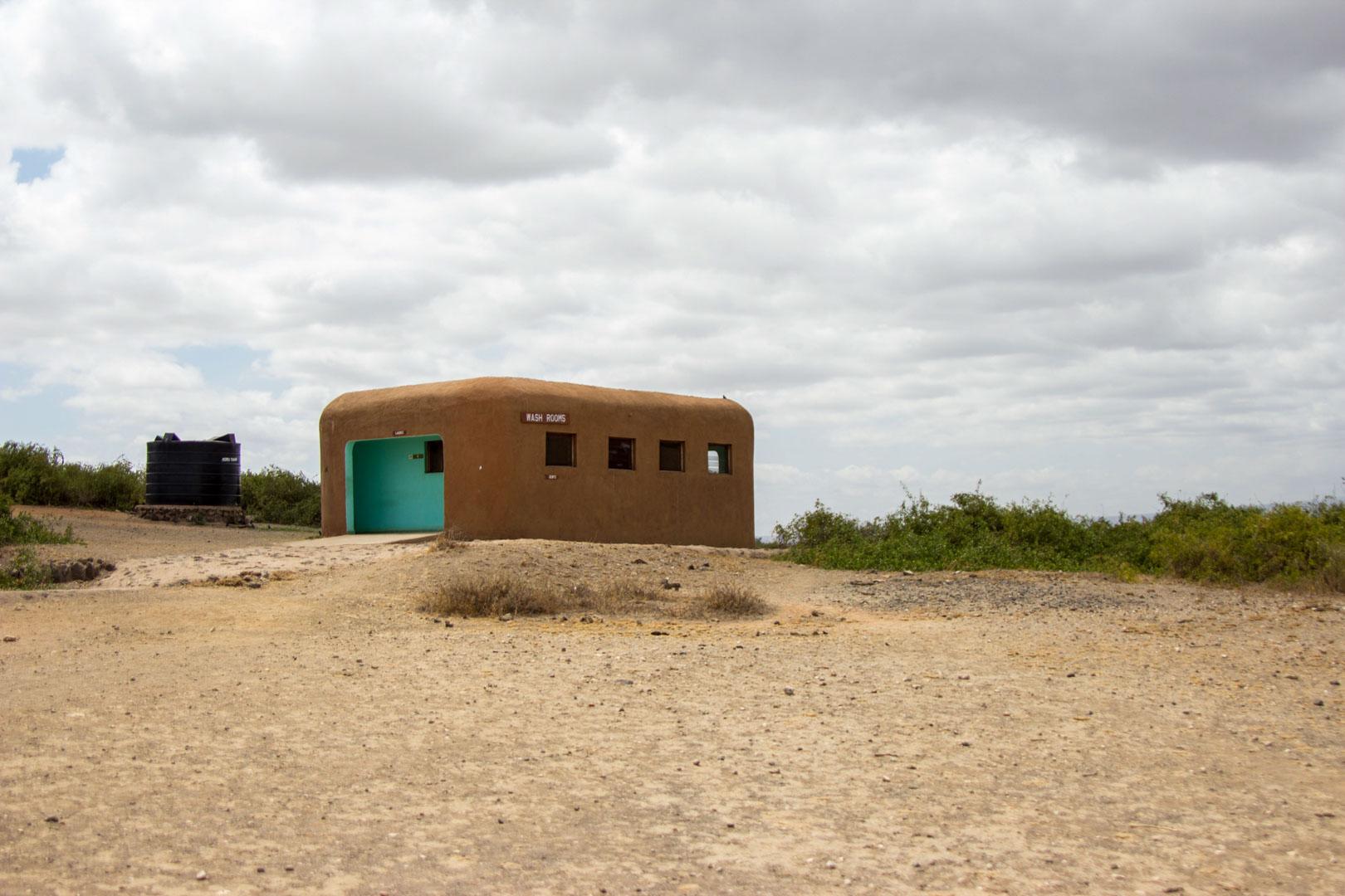 Baños en Noomotio, el mirador de Amboseli, Kenia