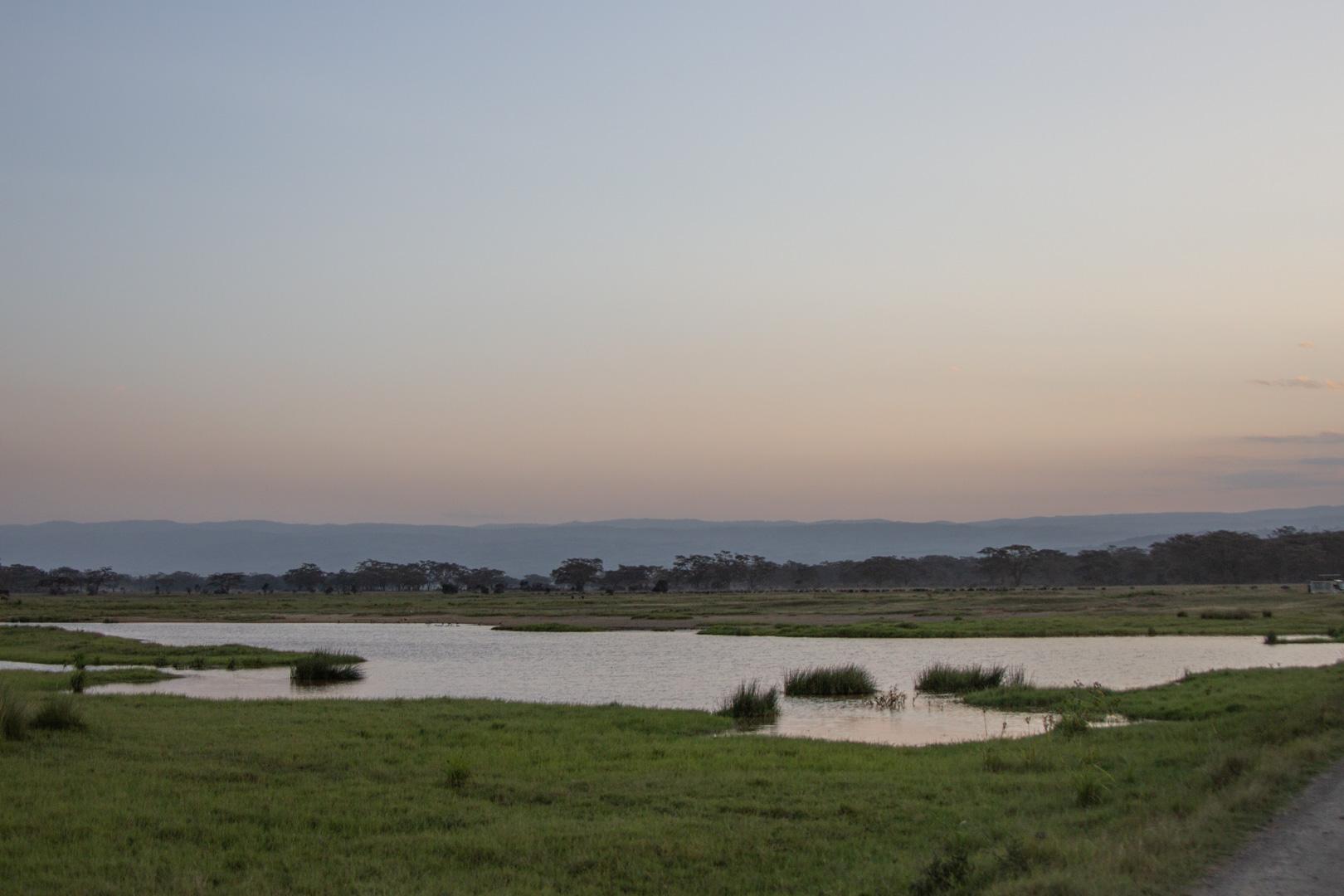 Abandonamos Lago Nakuru, Kenia