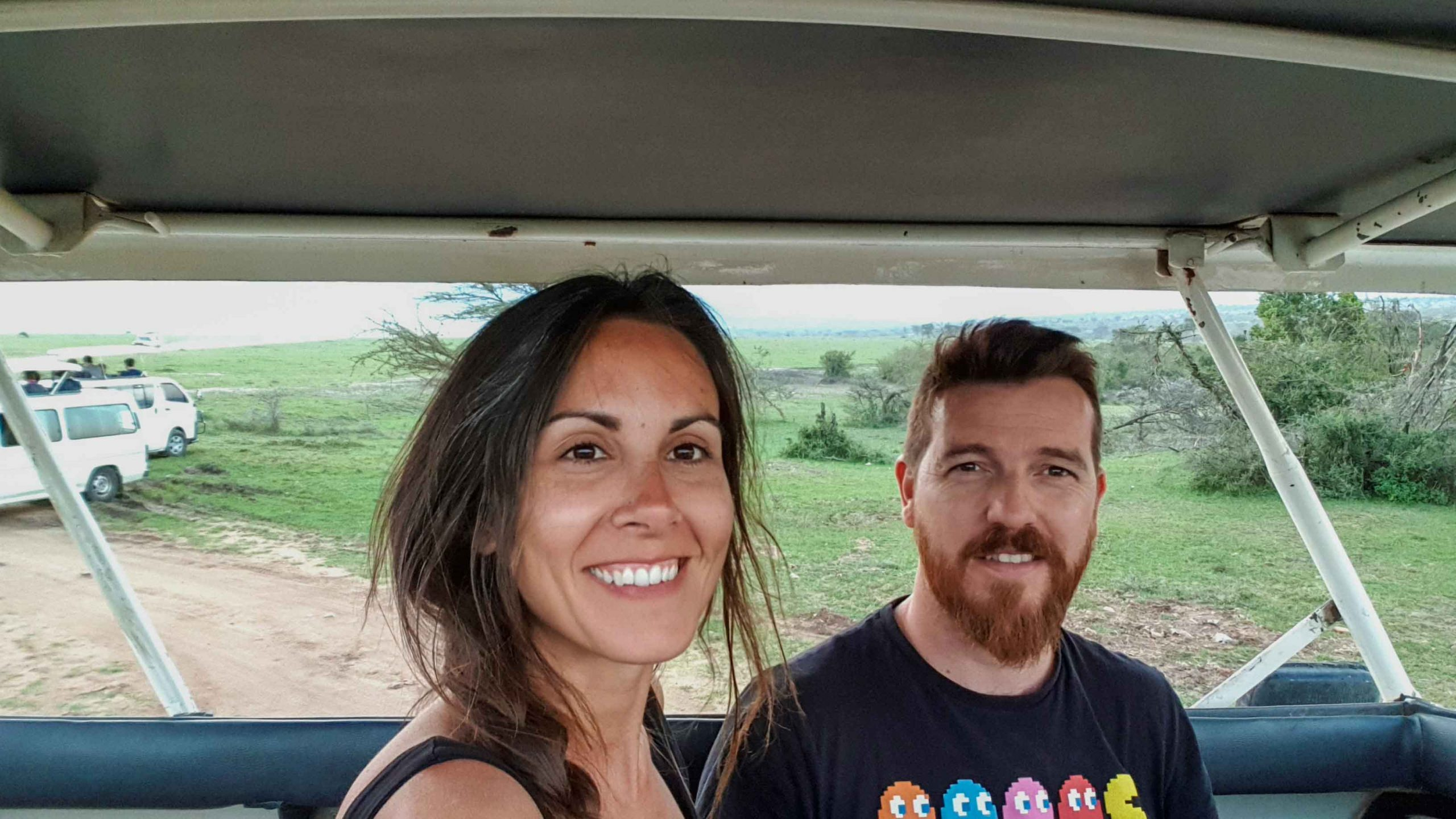 Llegamos al Masai Mara, Kenia