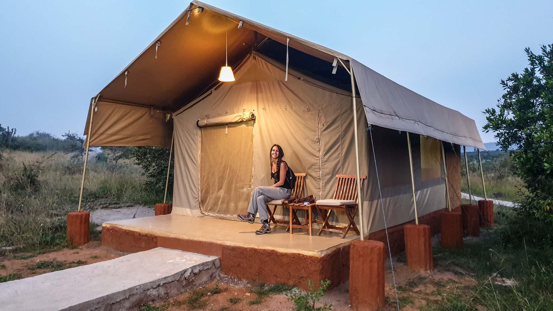 Nuestra tienda de campaña en Enkorok Mara Camp, Masai Mara, Kenia