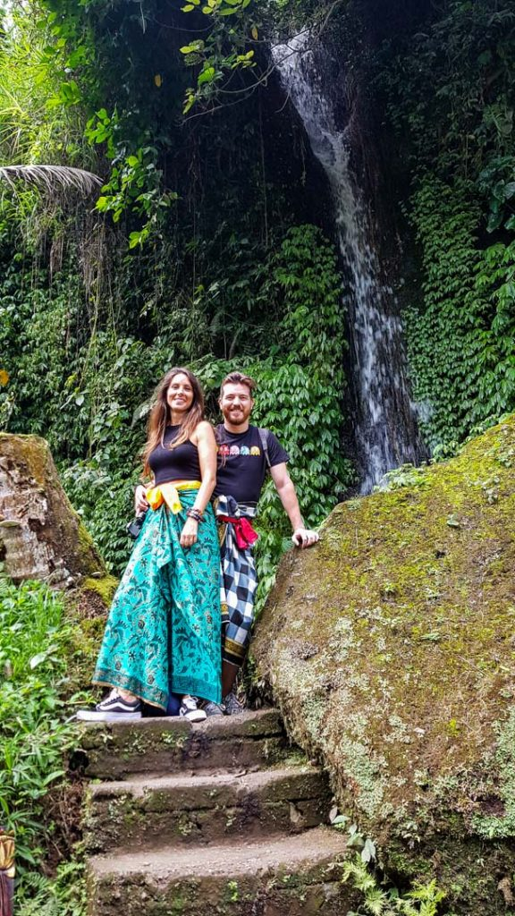 Nuestros sarongs, Bali, Indonesia