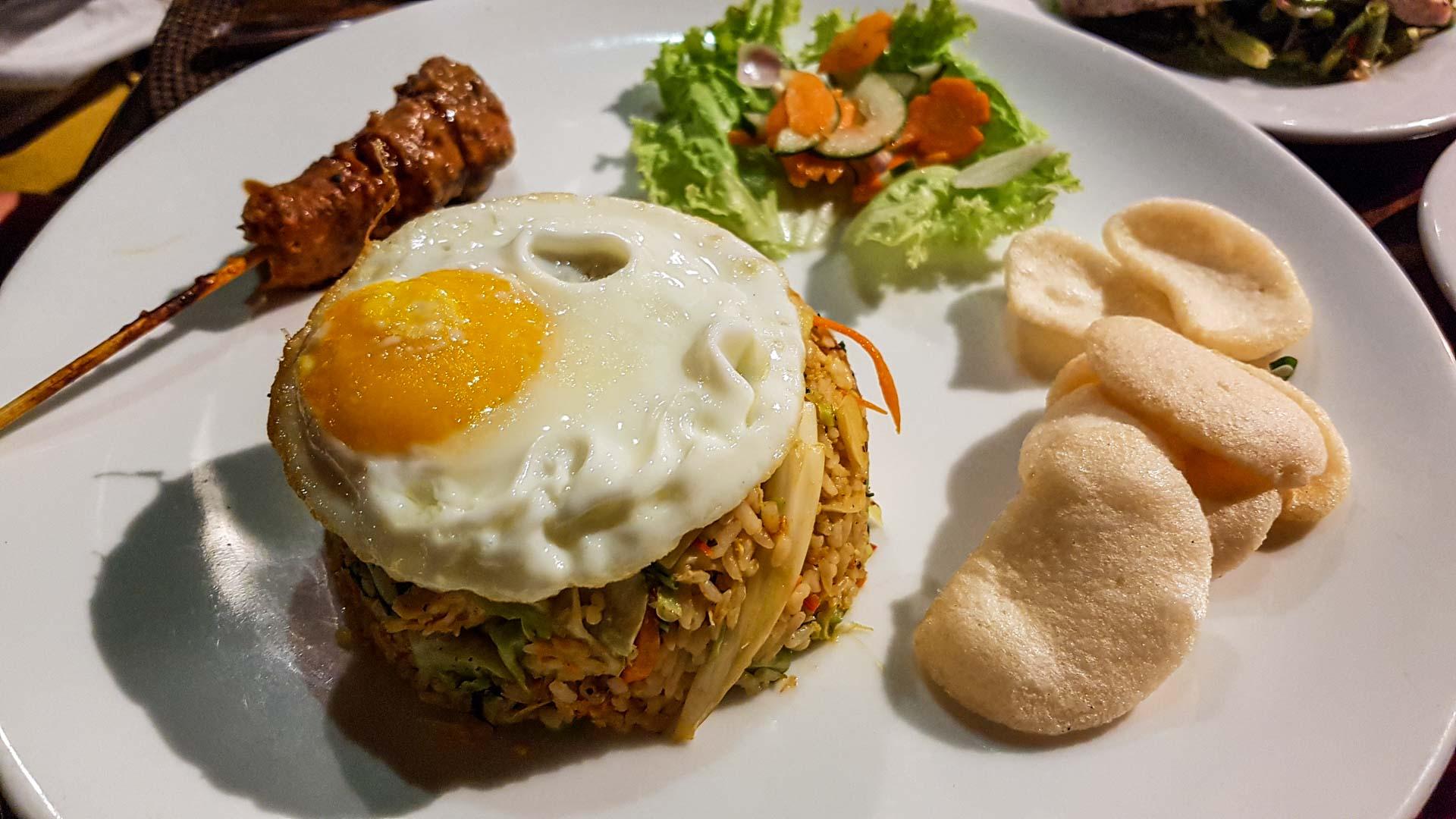 Nasi Goreng, Restaurante Bumi Bali, Ubud
