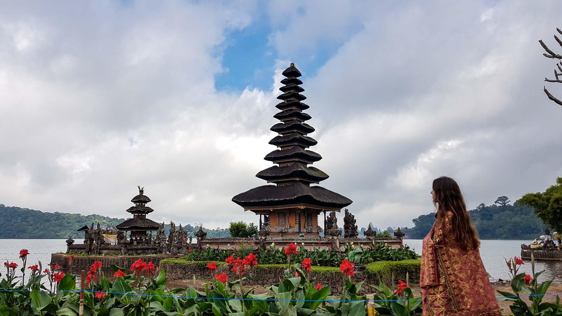 Templo Ulun Danu Bratan, Bali, Indonesia