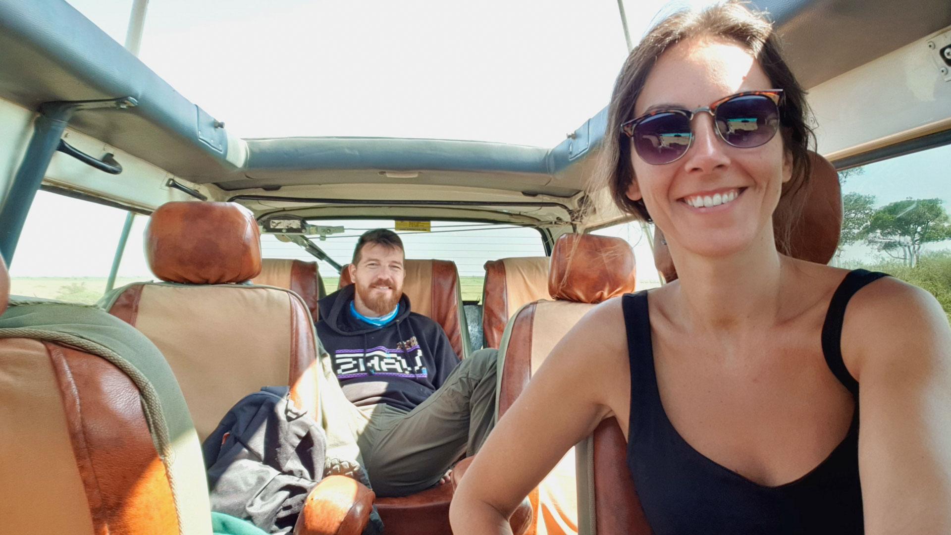 Empieza el safari por el Masai Mara, Kenia