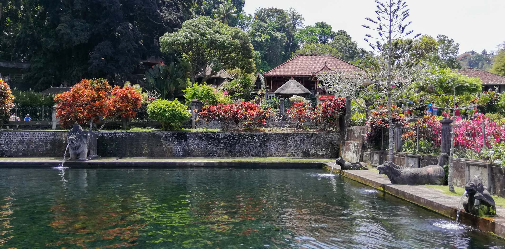 Palacio de agua, Tirta Gangga, Bali, Indonesia