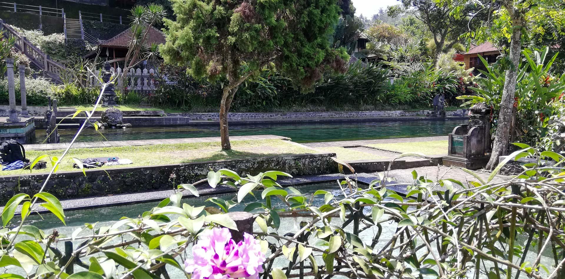 Piscinas aptas para el baño, Tirta Gangga, Bali, Indonesia