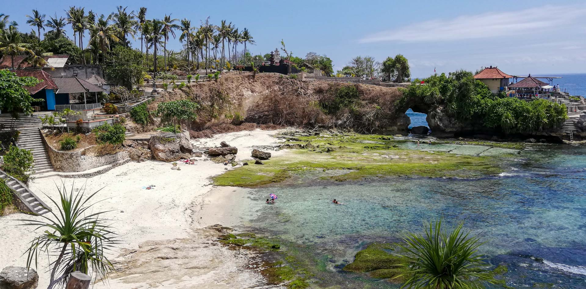 Secret Point Beach y Mahana Point, Nusa Ceningan, Indonesia