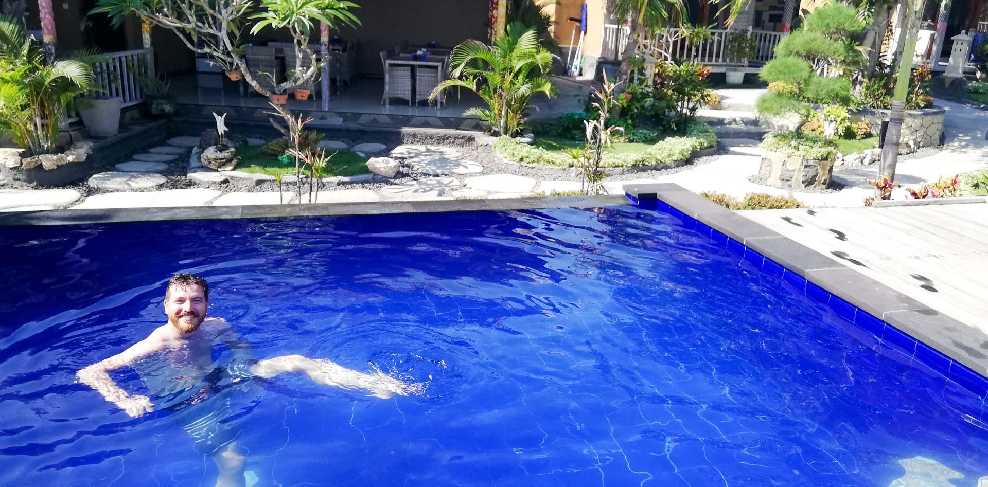 Piscina en Blue Lagoon Secret Villas, Nusa Ceningan, Indonesia