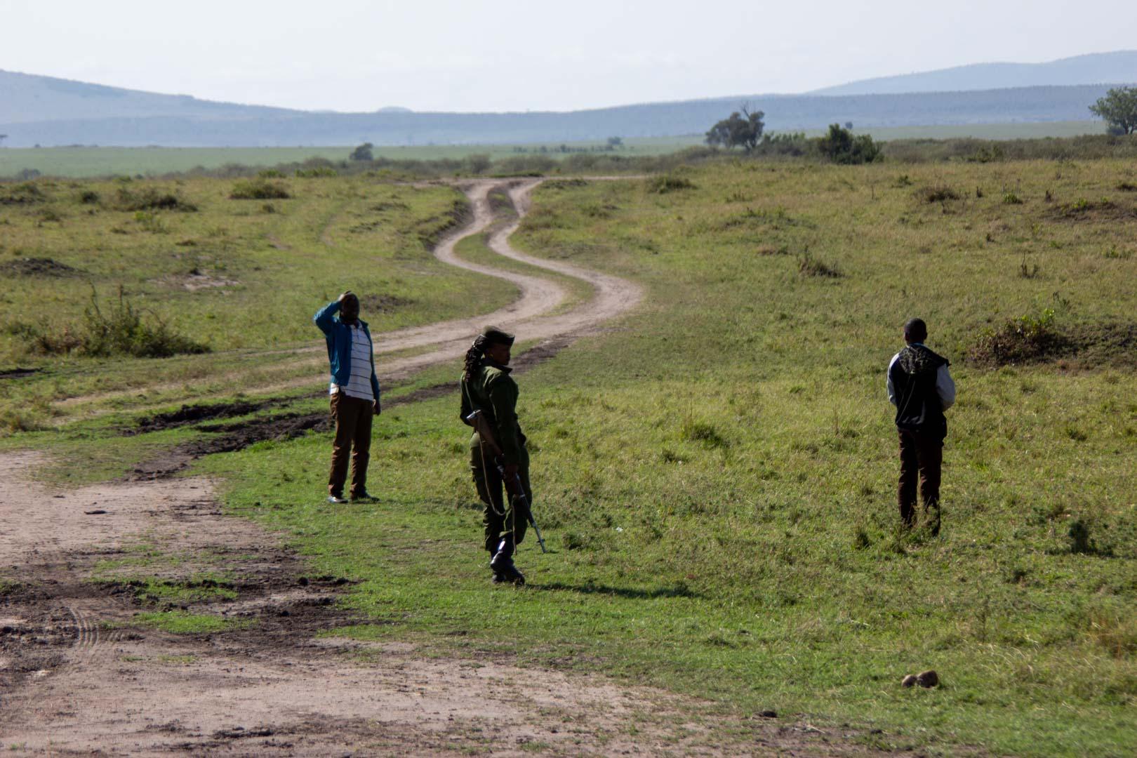 Trabajadores del Masai Mara, Kenia