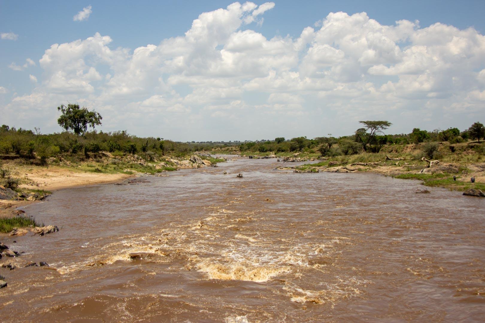 Río Mara, Masai Mara, Kenia