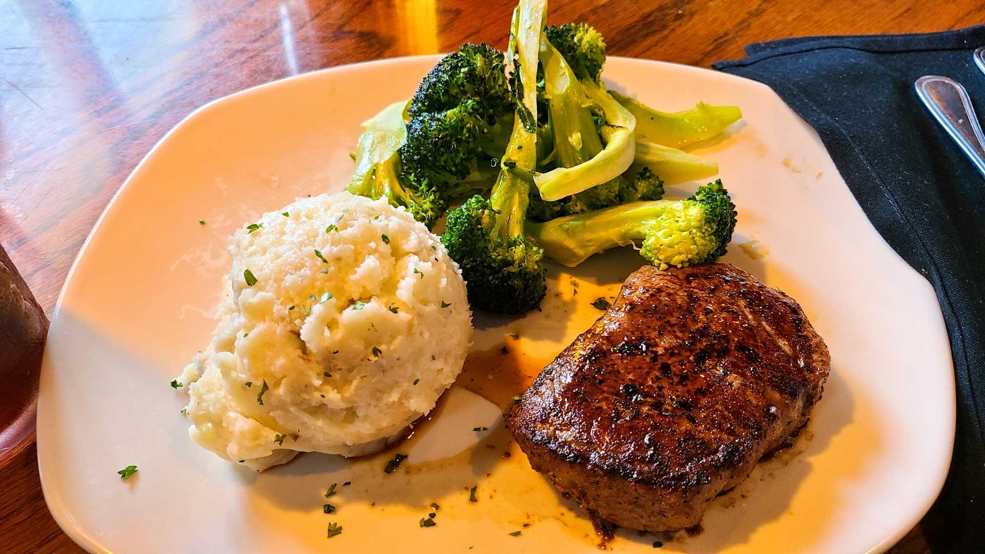 Filet Mignon en Outback Steakhouse